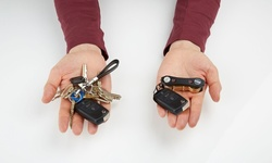 Key Ninjas Organizer with Bonus S Clip Pack of 2