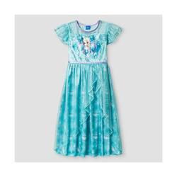 Disney Frozen Girl's Nightgown - Blue - Size: Medium 7/8