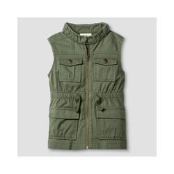 Oshkosh Girl's Fashion Vest - Green - Size: Large