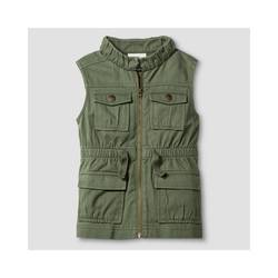 Oshkosh Girl's Fashion Vest - Green - Size: Medium