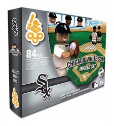 Oyo MLB Chicago White Sox Field Set - Building Block Play Set