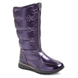 Girl's Buffy Tall Pack Winter Boots - Purple - Size: 13