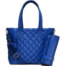 Michael Kors Roberts Large Quilted-Nylon Diaper Bag