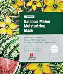 [LEADERS] 7 WONDERS Kalahari Melon Moisturizing / Premium Grade Coconut Gel Mask (Bio Cellulose) / 1 BOX (10 Sheet Masks)