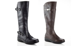 Rasolli Wide Width Comfort Riding Boot: Lala-06-black/7