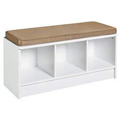 3 Cube Bench Cubeicals White