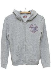 NFL Women's New York Giants Sunday Hoody - Medium Heather - Size: Large