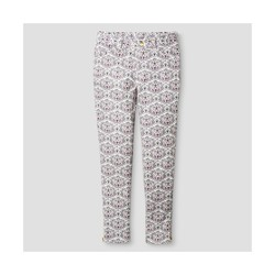 Oshkosh Toddler Girls' Animal Print Trouser - Cream - Size: 7