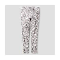 Oshkosh Toddler Girls' Animal Print Trouser - Cream - Size: 8