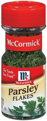 McCormick Parsley Flakes - Pack of 6 - 0.25 Oz