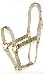 Hamilton 5-8 1 Nylon Quality Horse Halter - Small 500-800 lbs - Sage Green