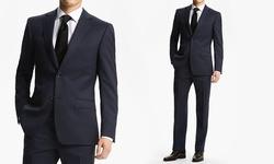 Fiorelli Men's Classic-Fit 2-piece Suit - Navy - Size: 52L x 46W