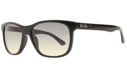 Rayban Unisex Sunglasses - Black/Gray Lens (RB4181F)