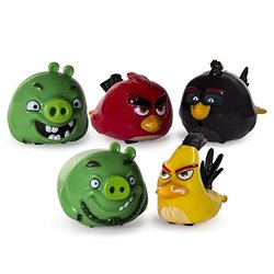 Angry Birds Speedsters Chuck, Bomb, Leonard, Pig and Red -Pack of 5