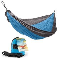 Lightweight Double Camping Hammock - Blue