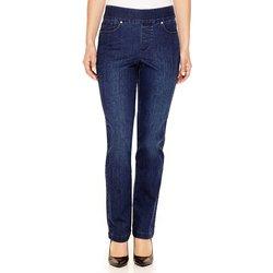 Gloria Vanderbilt Women's Avery Straight Leg Jeans - W Sycamore - Size: 12