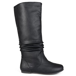 Brinley Co Women's Joey Riding Boot, Black, 9 M US