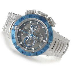 Men's 50mm Chronograph Stainless Steel Bracelet Watch - Rosetone/Gunmetal