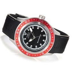 Invicta Men's 45mm Diver Quartz Stainless Steel Strap Watch - Red/ Black