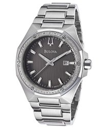 Bulova Diamonds Men's Quartz Watch (96E111)