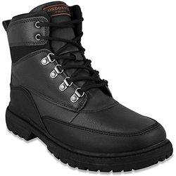 Men's Camden Boots: Black Pebbled/8