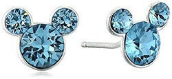 "Disney ""Mickey"" December Crystal Studs"