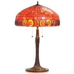 Tiffany Style Turtle Back Table Lamp Multi Color No Size