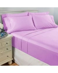 North Shore Living 950tc 100% Egyptian Cotton Suresoft 6 Piece Sheet Set Lavender Queen