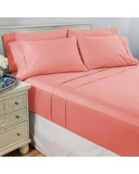 North Shore Living 950tc 100% Egyptian Cotton Suresoft 6 Piece Sheet Set Pink California King