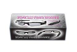 Zupa 007 Video Shadez Digital Photo and Video Spy Sunglasses