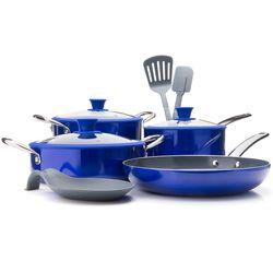 Te St 10pc Cookware Set Blue No Size