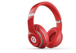 Beats by Dr. Dre Studio 2.0 Over-Ear Wired Headphones - Red (MH7V2AM/A)