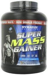 Dymatize Nutrition Super Mass Gainer - Gourmet Vanilla - 6 Pound