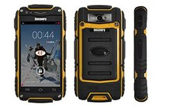 Futuretech Discovery V8 Dustproof Shakeproof Smartphone Rugged Android 4.2.2 Phone Mtk6572w, Cortex A7 Dual Core, 1.3ghz; 2g: GSM 850/900/1800/1900mhz; 3g: Wcdma2100mhz Phone(yellow)