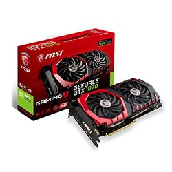 MSI GeForce-GTX-1070-GAMING-X-8G GDDR5 VR Ready Graphics Card