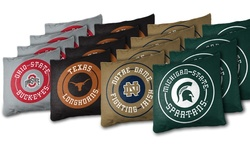 NCAA Xl Bean Bag-cornhole (4-pack): Michigan State Spartans White