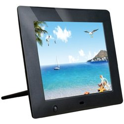 NOOU 8 Inch High Resolution Digital Photo Frame with Motion Sensor and Video Playback