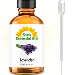 Sun Organic Lavender Essential Oil - 4-Ounce