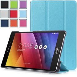 Asus Zenpad S 8.0 (Z580C/Z580CA) Case - HOTCOOL Ultra Slim Lightweight SmartCover Stand Case For 2015 Released Asus Zenpad S 8.0 Z580C / Z580CA Tablet, Blue