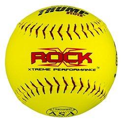 "Half Dozen Trump X-rock ASA 12"" Softballs 44 cor 375 Compression (X-ROCK-ASA-Y-2)"