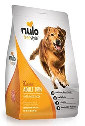 Nulo Adult Trim Grain-Free Dry Dog Food - Cod & Lentils - 4.5lb