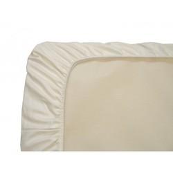 Naturepedic Organic Cotton Crib Sheet ( - pack 3, ivory