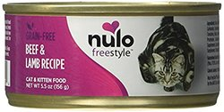 Nulo Grain-Free Cat Beef and Lamb Recipe Can (Case of 12), 5.5 oz