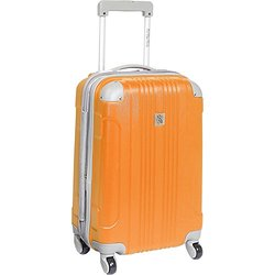 """Beverly Hills Country Club Newport 21"""" Hardside Spinner Carry On: Orange"""