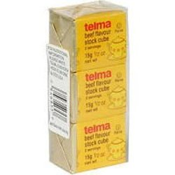 Telma Beef Flavour Stock Cube 12 Pack - 1.5 Oz
