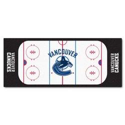 Nhl Rink Runner Mat: Vancouver Canucks
