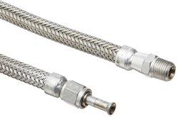 "Hosemaster Annuflex Stainless Steel 316 Flexible Hose Assembly - Size: 24"""
