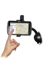 Amzer Car Mount & Case System for Alcatel One Touch 960C - Black(AMZ94745)