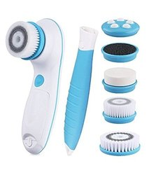 Dbpower 6 in 1 Waterproof Electric Facial & Body Cleansing Brush