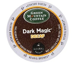 Green Mountain Dark Magic Decaf for Keurig Brewers 24 K-Cups